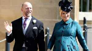 News video: Royal Baby Born To Zara Tindall
