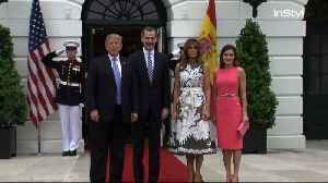 Right Now: POTUS/FLOTUS Meet King and Queen of Spain