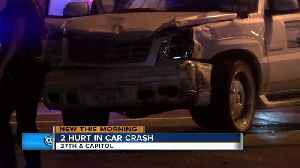 Police are still investigating car crash at 37th and Capitol