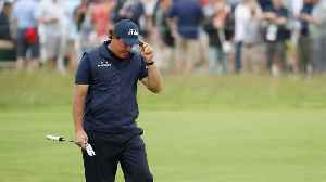 Phil Mickelson Apologizes for Putting Moving Ball at U.S. Open