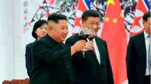 Kim Jong Un Meets With China As US/China Trade Arguments Intensify [Video]