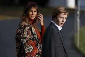 Melania Trump alerted the Secret Service to Peter Fonda tweets about son Barron