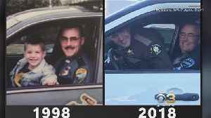 Father, Son Recreate Special Father's Day Photo 20 Years Later