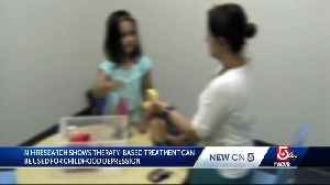 Therapy-based treatment can be used for childhood depressio