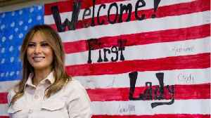 First Lady Melania Trump Makes Unannounced Visit To Meet With Immigrant Children