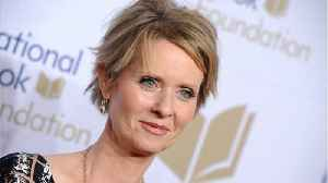Cynthia Nixon Jokes About Mediating SJP and Kim Cattrall After Fued [Video]