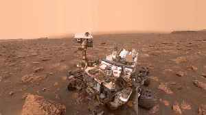 There Aren't Enough Swiffers In The World To Clean Up The Dust Storm On Mars