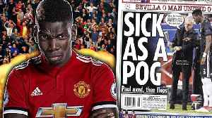 REVEALED: Paul Pogba Wants To LEAVE Manchester United After Being Dropped?! | #VFN [Video]