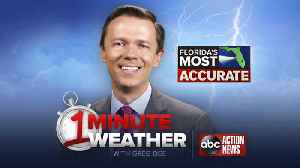 Florida's Most Accurate Forecast with Greg Dee on Thursday, June 21, 2018