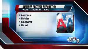 Airlines ask US not to put migrant children on flights