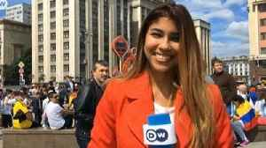 World Cup Reporter Groped and Kissed at Moscow Fan Zone