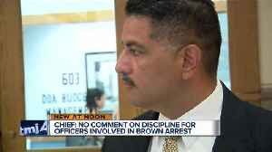 MPD Chief Morales silent on discipline for officers involved in Sterling Brown arrest [Video]