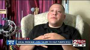 Local musician using talent to help Puerto Rico