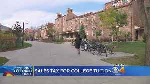 Sales Tax Proposal Could Fund Higher Education In Denver