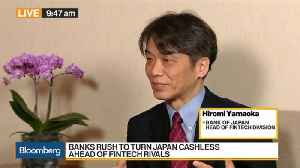 BOJ's Yamaoka Discusses Efforts to Promote Fintech