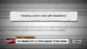 Perfect bite mark leads to arrest of clown-masked robbery suspect