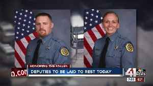 Fallen Wyandotte County deputies to be laid to rest today