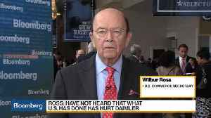 Sec. Ross on Trade, Economic Growth, ZTE, Short Selling [Video]