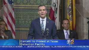 Garcetti To Join Fellow Mayors At Border Protest