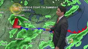 Midday Weather Update: Unsettled To End The Week