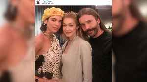 'Queer Eye's' Jonathan Van Ness Says Gigi Hadid 'Is Very Talented with Her Hands' — And Loves to Bake!
