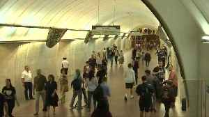 World Cup matches broadcast live in Moscow underground