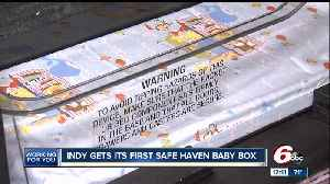 First central Indiana Safe Haven Baby Box to be installed this month