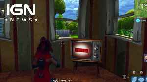 Fortnite: Players Discover New TV Message