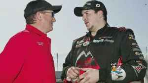 NASCAR Driver's Father Rushed Onto Track To Pull Him From Burning Car