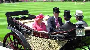Right Now: Queen Elizabeth and Two Princesses Royal Procession at Royal Ascot [Video]