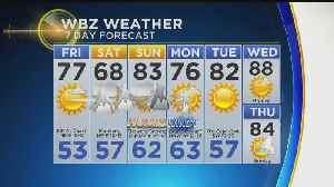 WBZ Evening Forecast For June 21