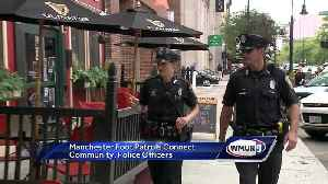 Manchester foot patrols connect with community
