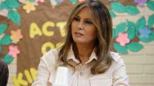 First Lady Melania Trump Visited Child Detention Center
