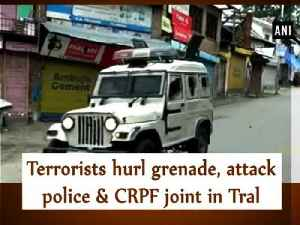 Terrorists hurl grenade, attack police & CRPF joint in Tral