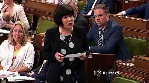 Canadian MP breastfeeds during questions period [Video]