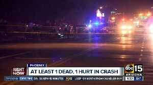 Multiple cars involved in deadly crash in Phoenix