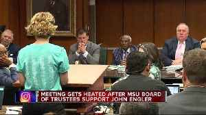 MSU Board of Trustees votes to approve $500M settlement for Nassar survivors [Video]