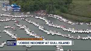 Thousands expected at Michigan's Jobbie Nooner party on Gull Island [Video]