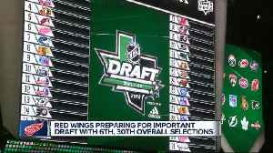 Red Wings prepare for important NHL Draft with two first-round picks [Video]
