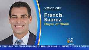 Miami Mayor Francis Suarez Details Visit To Immigration Detention Facility In Texas
