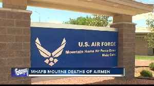MHAFB officials mourn loss of three airmen