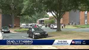 Trails at Northpointe apartment stabbing