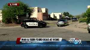 Man, teen found dead at eastside home
