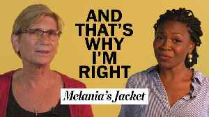And That's Why I'm Right | Melania's jacket