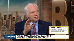 Ex-Fed Governor Tarullo Says Stress Test Strategy Paid Off for Banks
