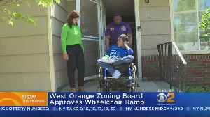 West Orange Zoning Board Approves Wheelchair Ramp