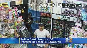 New Video Of Fatal Stabbing Released