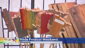 Setting Up One Of Nation's Largest Pride Fests