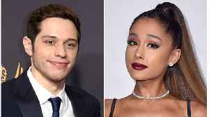 Seth Rogen Is Over Ariana Grande & Pete Davidson's Social Media PDA