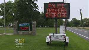 Local Agencies Take Part In Active Shooter Training Exercise At School
